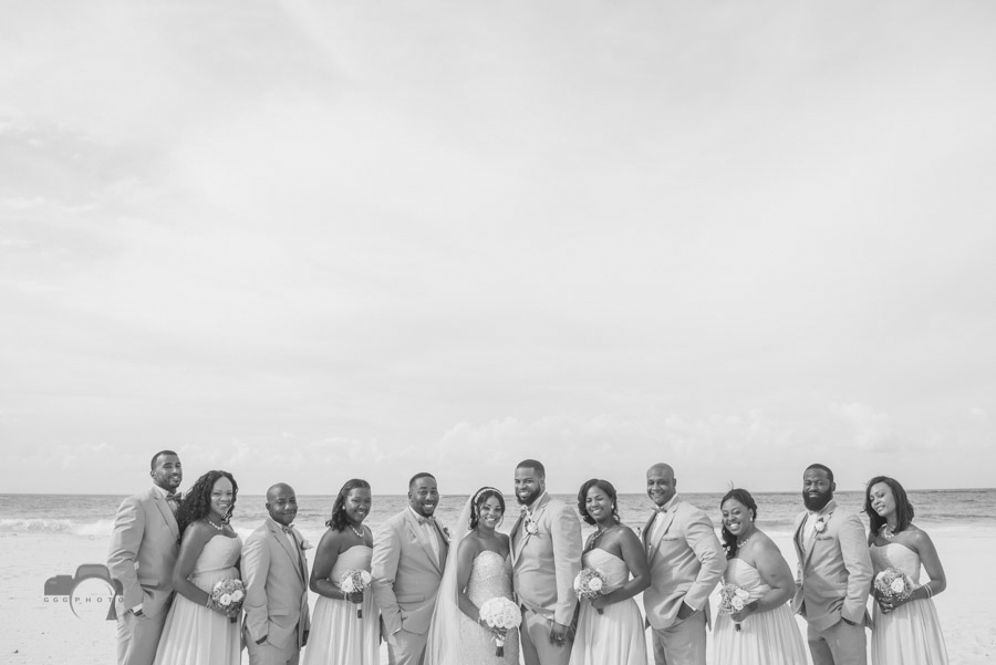 Krystal Burnwell & Maceo Brown's Wedding Hard Rock Hotel & Casino, Punta Cana - June 30th, 2016 © www.GGGPHOTO.com www.facebook.com/GGGPHOTO